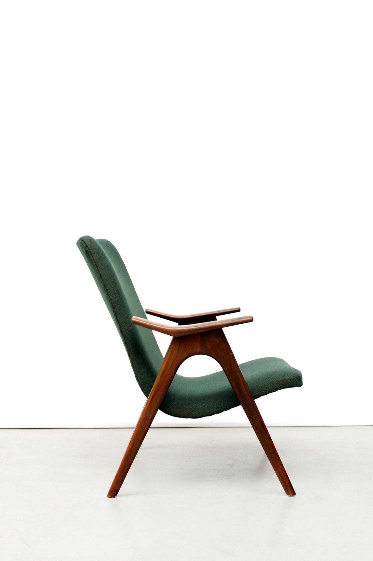 Wonderlijk Groene vintage design fauteuil | VAN ONS VZ-29