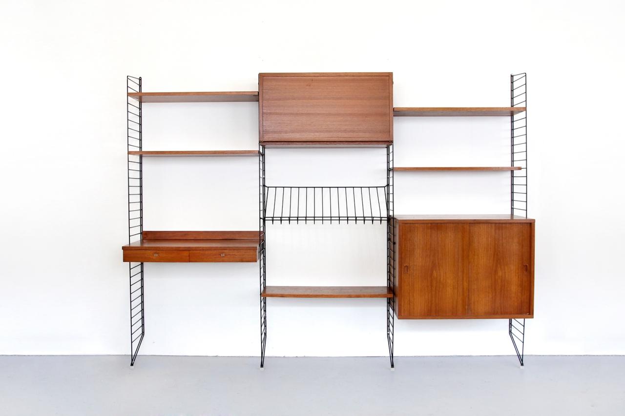 vintage nisse strinning string design groot wandsysteem van ons. Black Bedroom Furniture Sets. Home Design Ideas