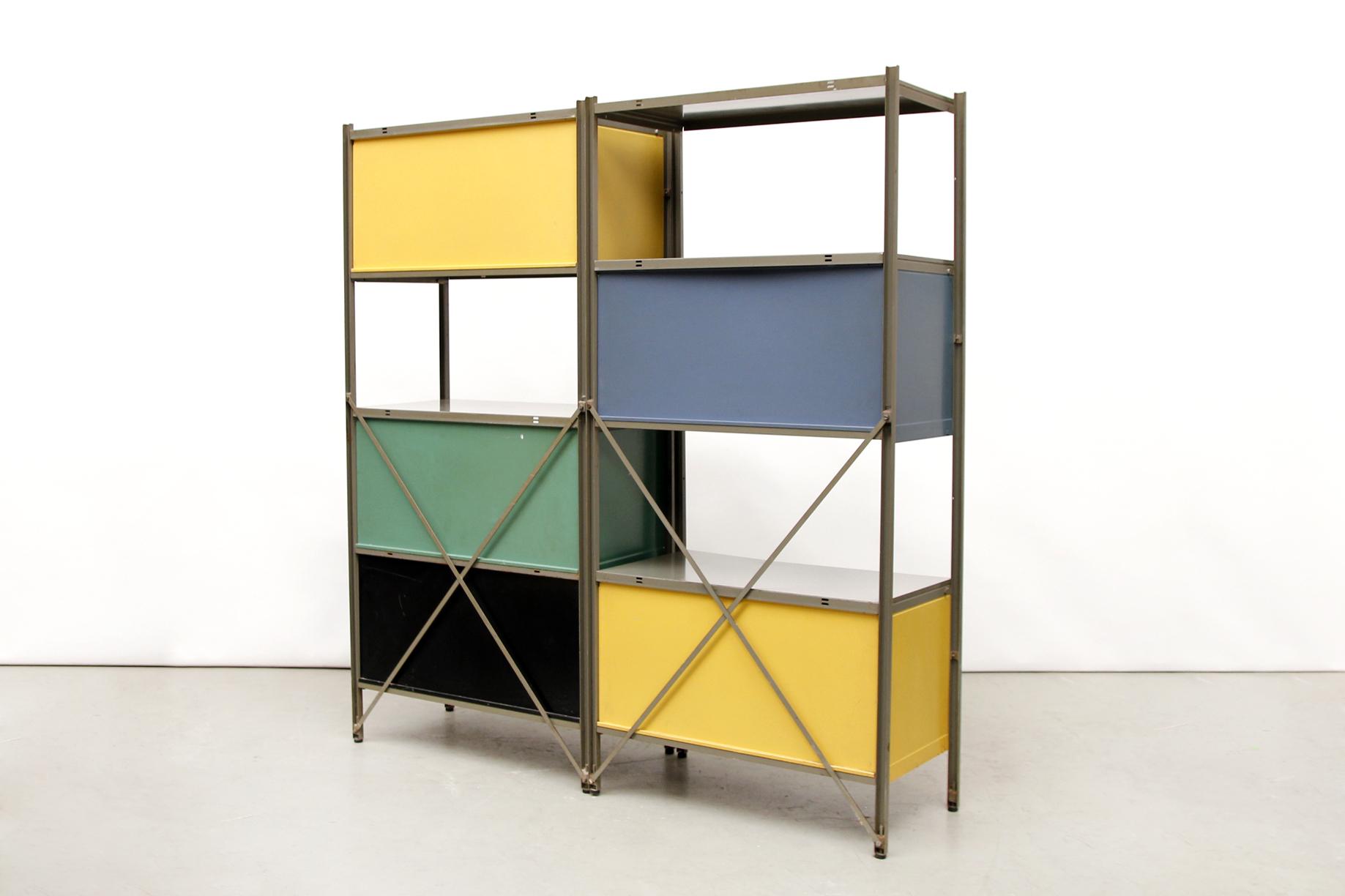 Wim Rietveld Gispen No 663 Vintage Design Cabinet Eames