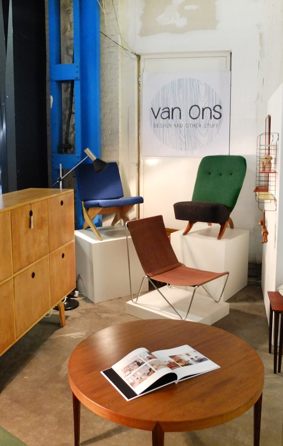 van OnS at the design Icons Amsterdam