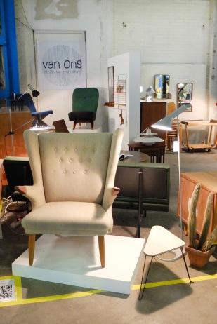 van OnS op design Icons Amsterdam 2014 vintage design meubels