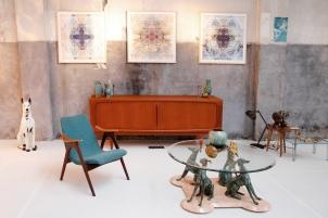 van OnS vintage deens design fauteuil op de gevonden op marktplaats salon looiersgracht Amsterdam