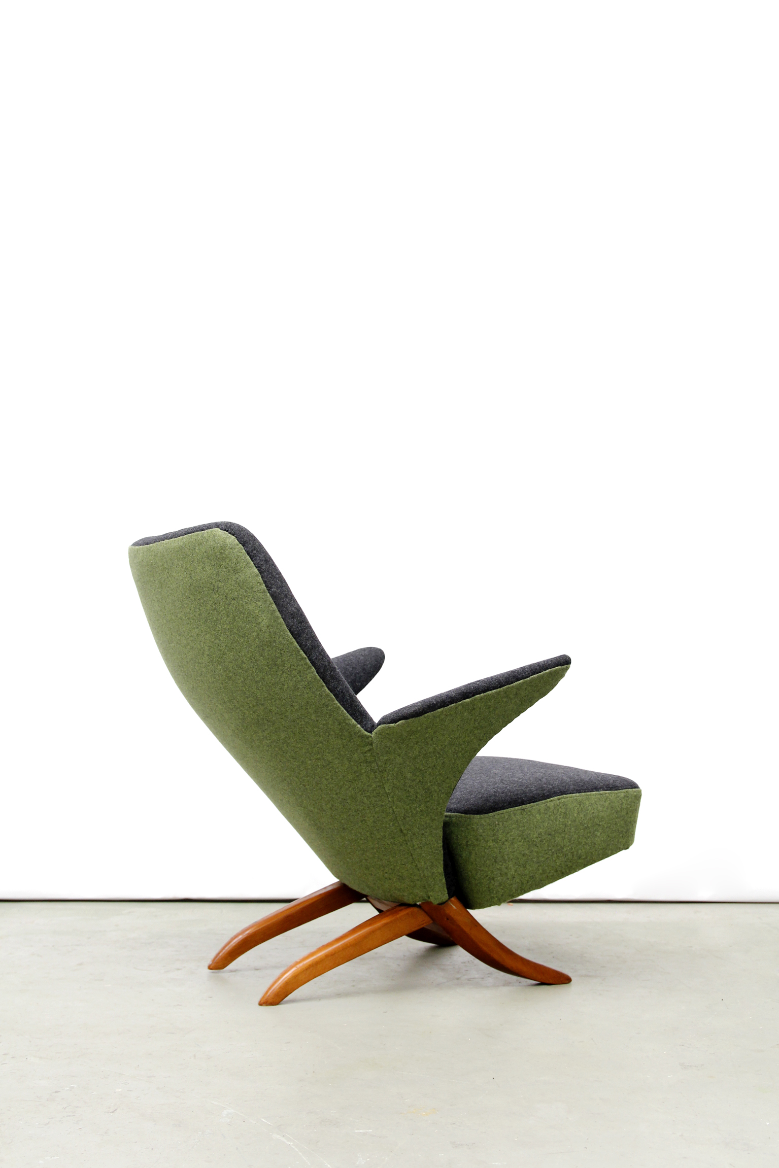 Vintage Penguin Dutch Design Armchair By Theo Ruth For