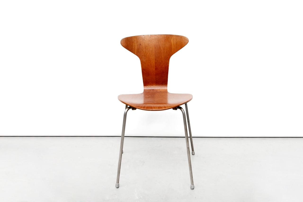 Arne Jacobsen Stoel : Vintage arne jacobsen mosquito 3105 stoel van ons