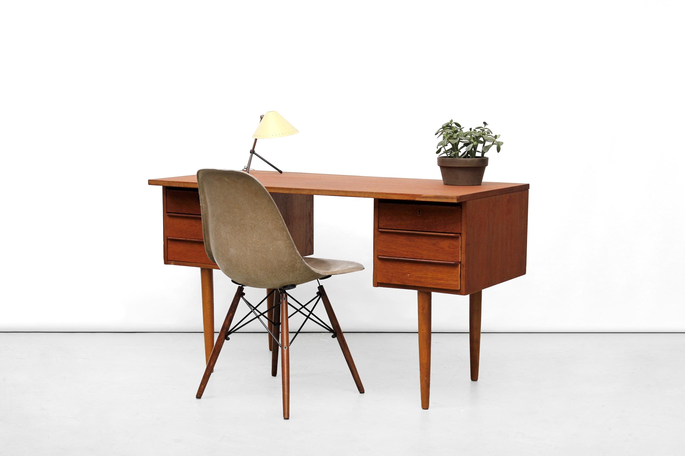 Vintage deens design bureau te koop bij van ons vintage design