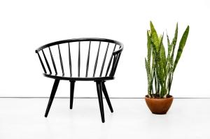 Gerestaureerd vintage Ekstrom Arka chair