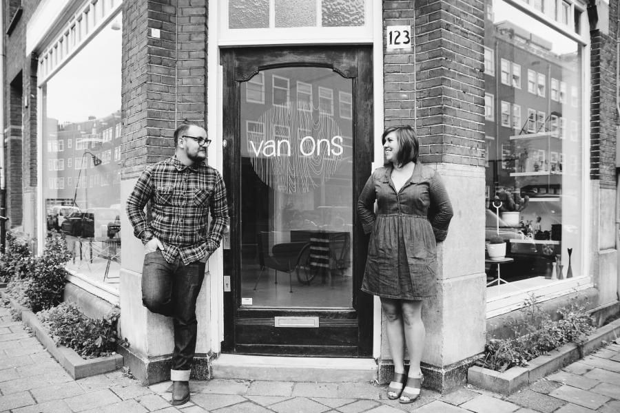 Opening winkel vintage design meubels VAN ONS
