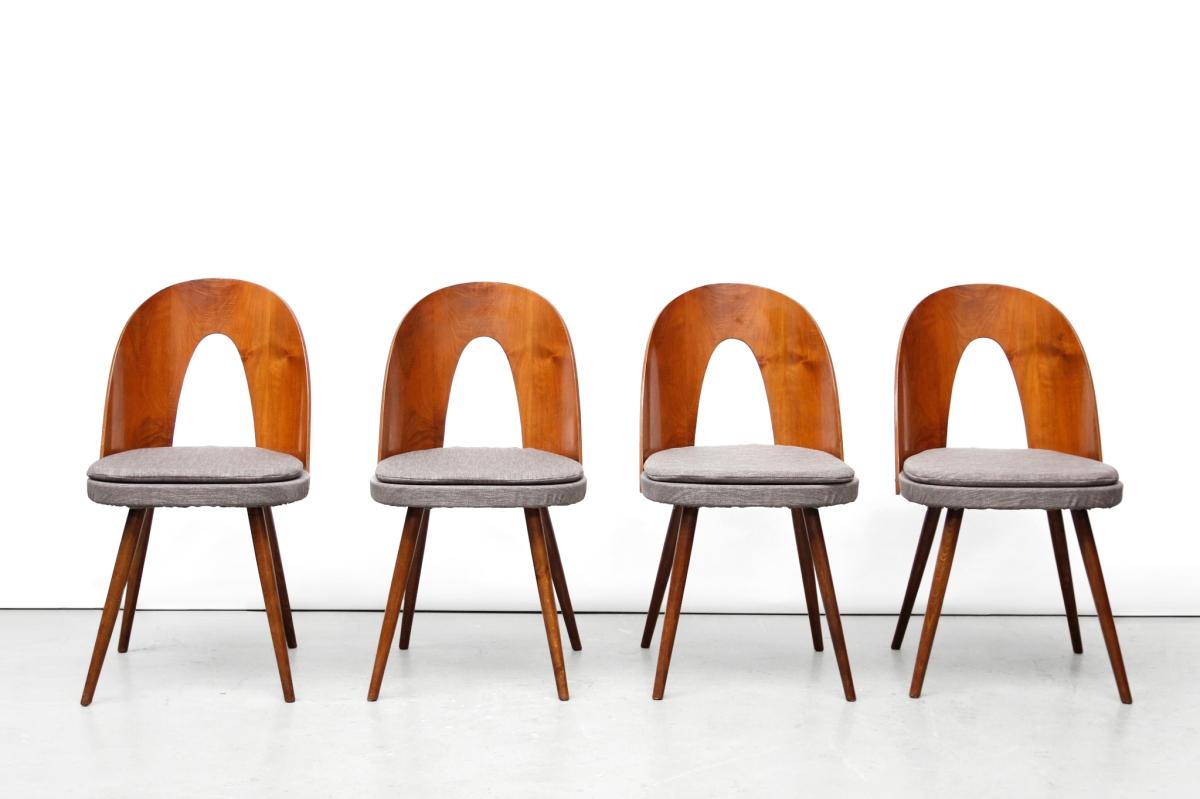 Dining Chair Set Mid Century