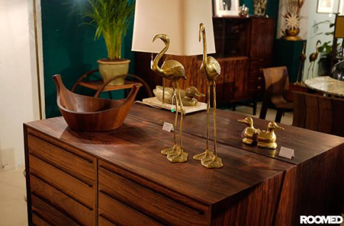 Rosewood Poul Hundevad chest of drawers sideboard VAN ONS Wintersalon