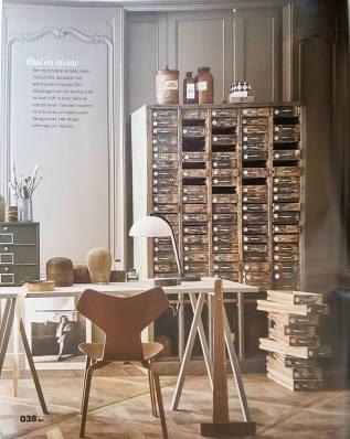 Industrieel en Design klassieker, Arne Jacobsen Teak Grand Prix chair te koop bij VAN ONS