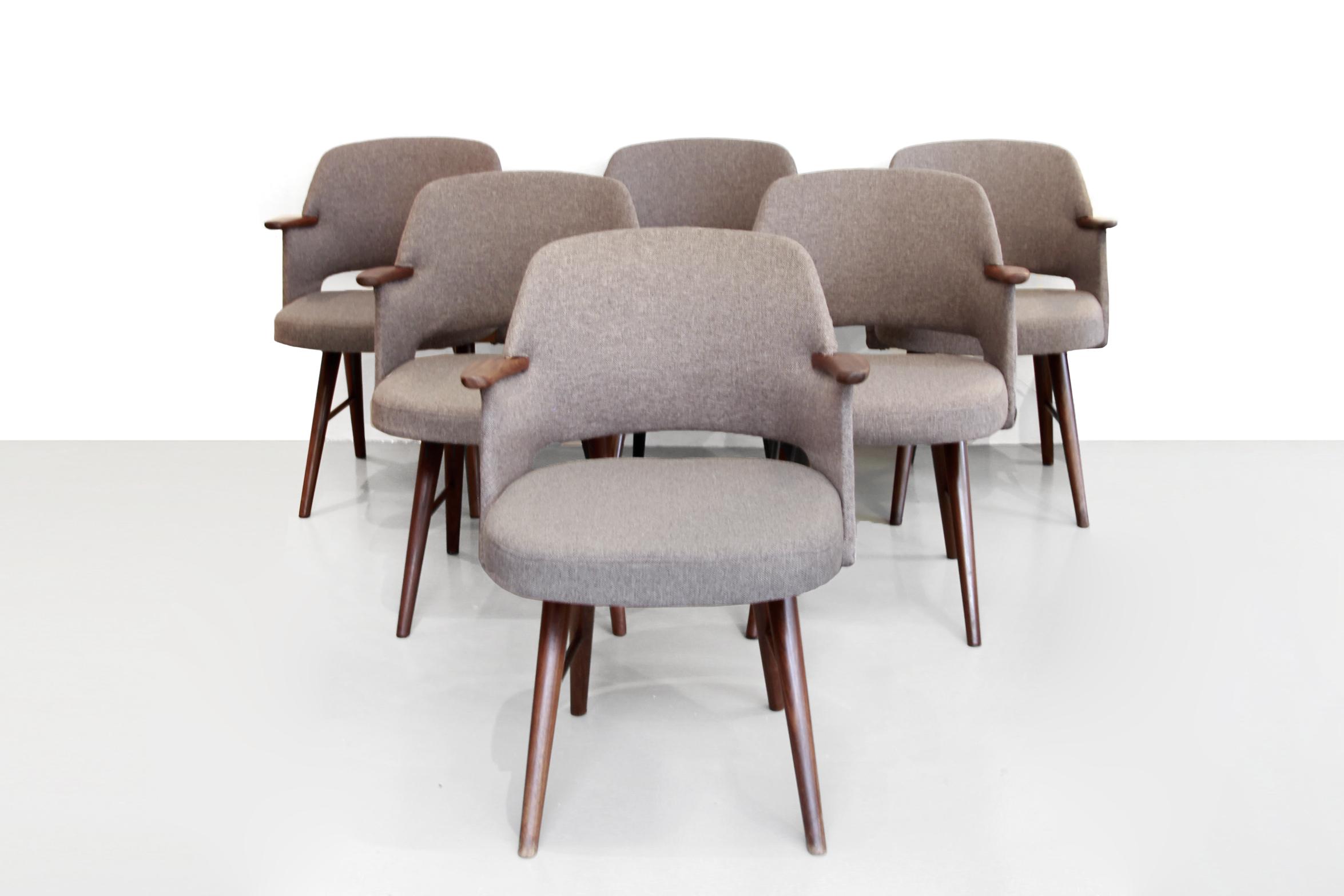 Design Pastoe Stoelen : Set van cees braakman ft eetkamerstoelen voor pastoe