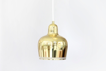 Artek Golden Bell lamp by Alvar Aalto for sale at VAN ONS mid century modern design Amsterdam