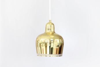 Artek Golden Bell lamp by Alvar Aalto for sale at VAN ONS mid century modern design Amsterdam