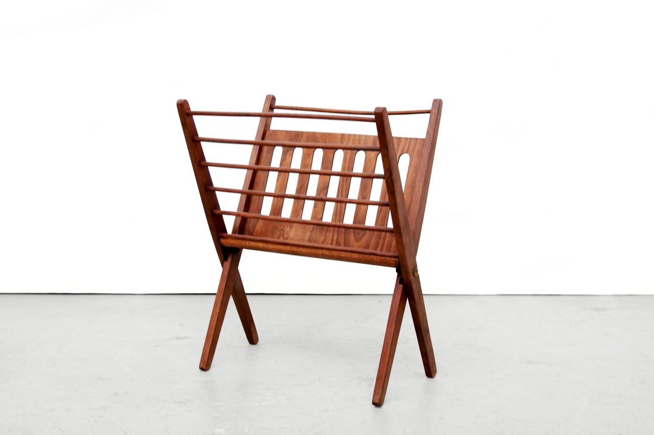Terrific Vintage Mid Century Modern Magazine Rek Van Nevco Van Ons Onthecornerstone Fun Painted Chair Ideas Images Onthecornerstoneorg