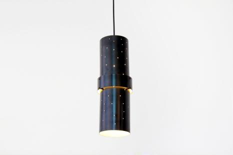 Zwarte Scandinavische cilindrische design hanglamp pendant