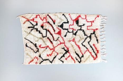 Vintage Marokkaans Azilal tapijt VAN ONS Amsterdam