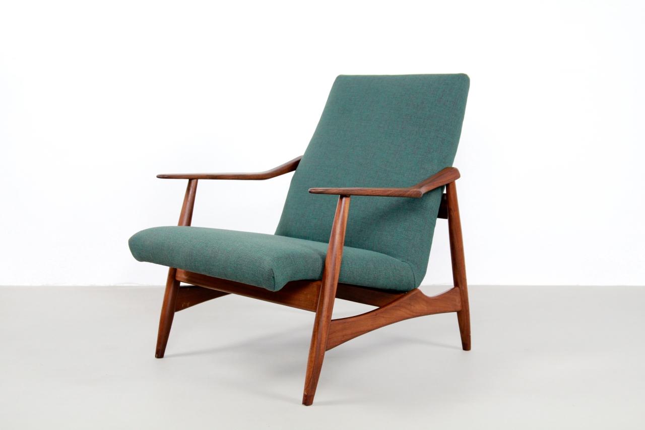 Ongekend Vintage Teak Deens design fauteuil   VAN ONS YR-53