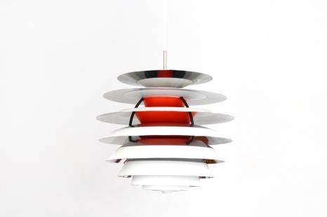 Vintage Poul Henningsen Kontrast lamp by Louis Poulsen 1960 VAN ONS mid century modern design Amsterdam