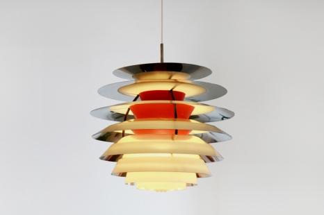 Vintage Poul Henningsen Kontrast lamp by Louis Poulsen 1960