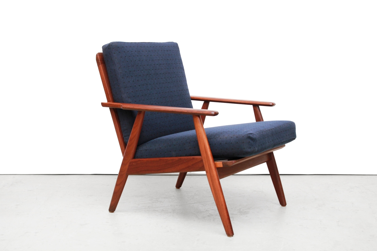 Modern Design Fauteuil.Teakhouten Deens Design Fauteuil Danish Control Van Ons Mid Century