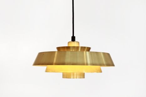 Messing Jo Hammerborg Nova hanglamp Danish design pendant VAN ONS Scandinavian design furniture Amsterdam