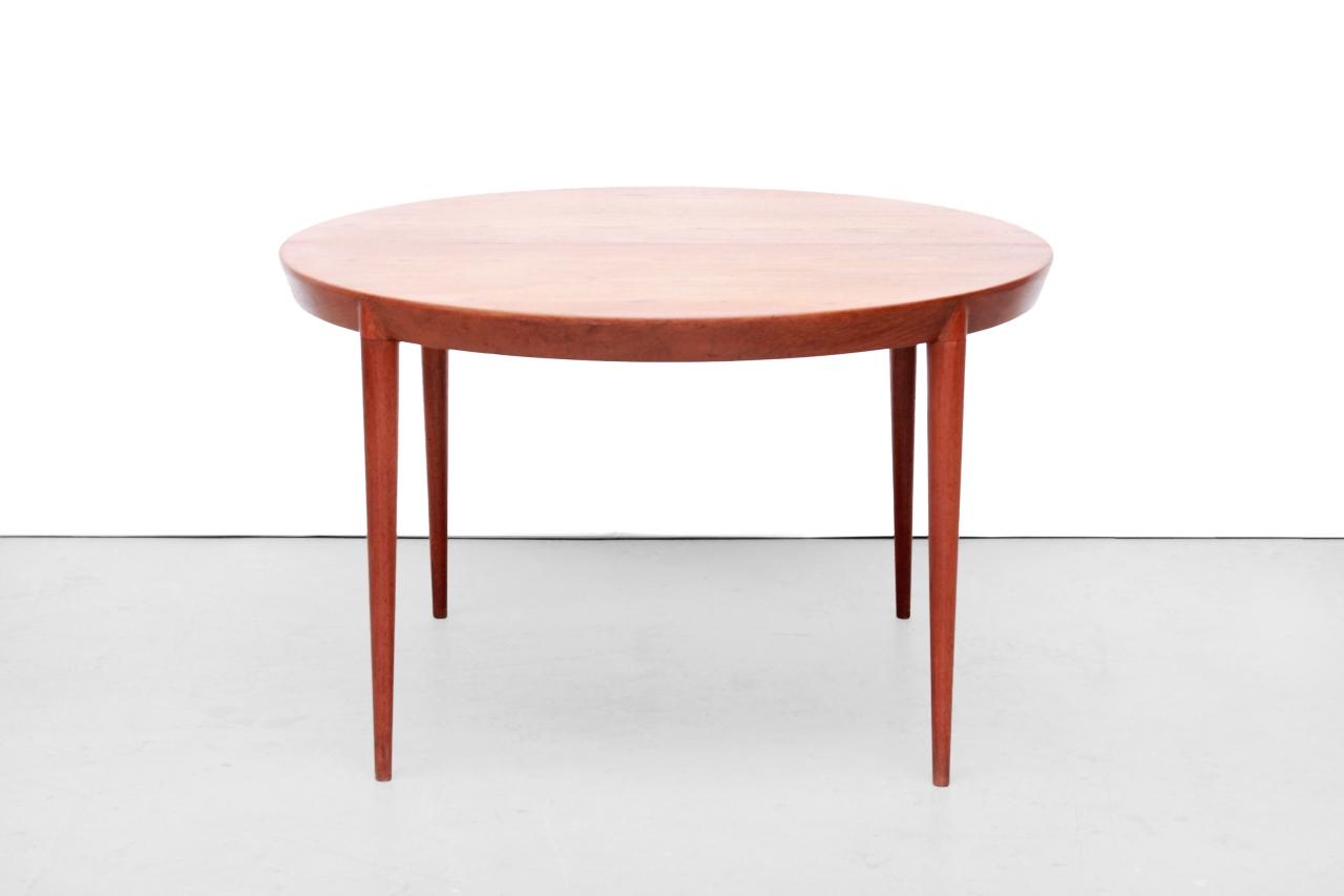 Teak houten ronde verlengbare Severin Hansen eetkamer tafel | van OnS