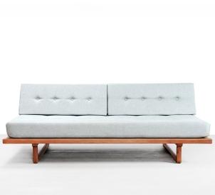 Eiken Borge Mogensen daybed voor Fredericia lounge bank model 4312 VAN ONS design interieur Amsterdam