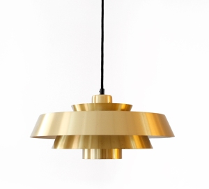 Messing Jo Hammerborg Nova lamp Deens design pendant