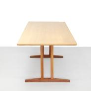 Eiken Borge Mogensen eetkamertafel voor FDB Mobler model C18 Oak dining table