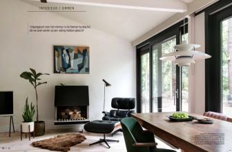 ONS BUITENHUIS in Eigen Huis en Interieur editie 5 2020 Interieur Ommen Cubus no 1 Fagerholt