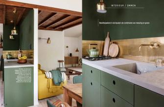 Keuken ONS BUITENHUIS in Eigen Huis en Interieur editie 5 2020 VAN ONS